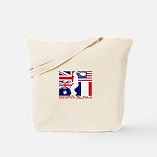 Cute Us open Tote Bag