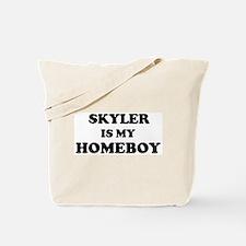 Skyler Is My Homeboy Tote Bag