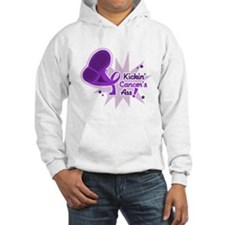 Kickin' Pancreatic Cancer Hoodie