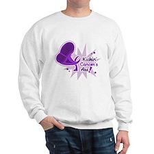 Kickin' Pancreatic Cancer Sweatshirt