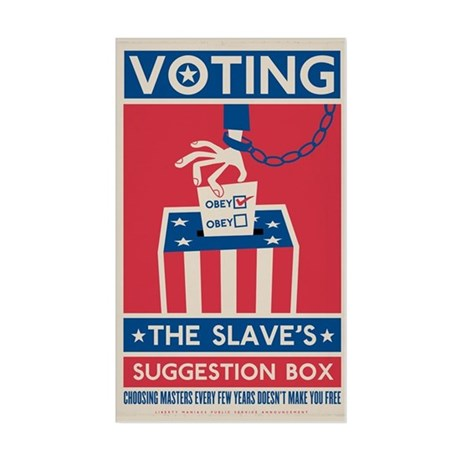 Voting Sticker (Rectangle)