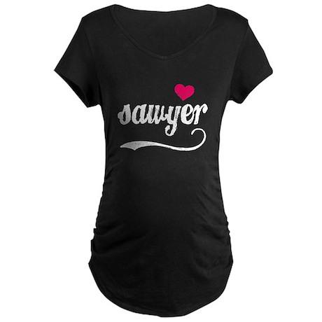 Sawyer Love Maternity Dark T-Shirt