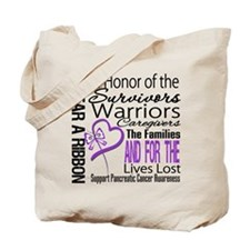 Pancreatic Cancer Tribute Tote Bag