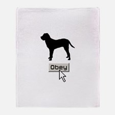Tosa Inu Throw Blanket