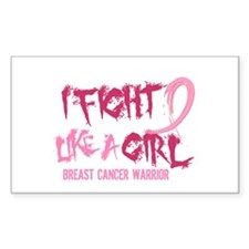 Licensed Fight Like a Girl 5.2 Decal