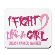 Licensed Fight Like a Girl 5.2 Mousepad