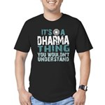 Dharma Thing Men's Fitted T-Shirt (dark)