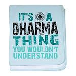 Dharma Thing baby blanket