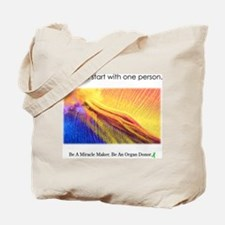 One Person Miracle Tote Bag