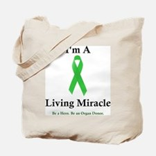Living Miracle 2 Tote Bag