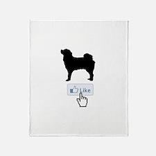 Tibetan Mastiff Throw Blanket