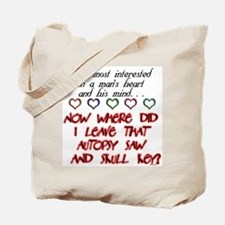A Man's Heart and Mind Tote Bag