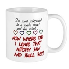 A Man's Heart and Mind Mug