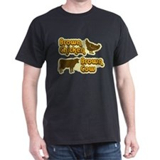 Brown Chicken Cow T-Shirt