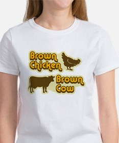 Brown Chicken Cow Tee