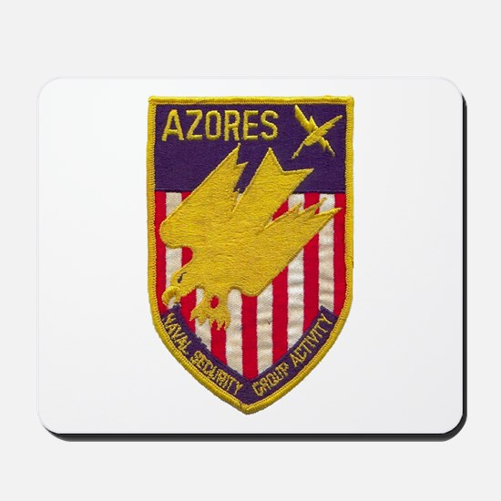 NAVAL SECURITY GROUP ACTIVITY AZORES Mousepad