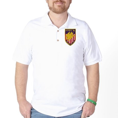 NAVAL SECURITY GROUP ACTIVITY AZORES Golf Shirt