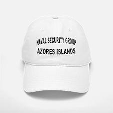 NAVAL SECURITY GROUP ACTIVITY AZORES Baseball Baseball Cap
