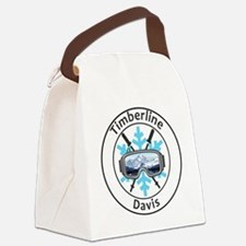 Cute Goggles Canvas Lunch Bag