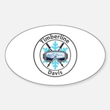 Cute Davis Sticker (Oval)