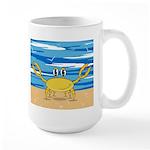 Cute Little Crab Large Coffee Mug