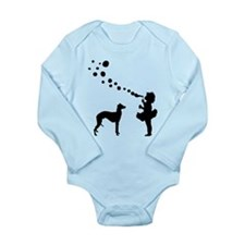 Whippet Long Sleeve Infant Bodysuit