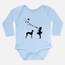 Whippet Long Sleeve Infant Bodysuit