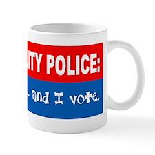 Morality Police Small Mug