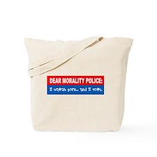 Morality Police Tote Bag