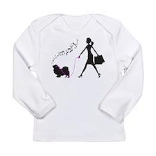 Tibetan Spaniel Long Sleeve Infant T-Shirt