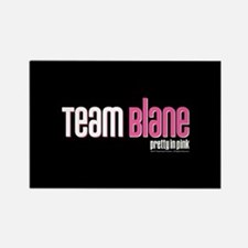 Pretty in Pink: Team Blane Rectangle Magnet