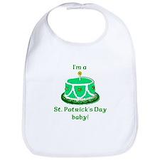 St Patrick's Day Birthday Bib