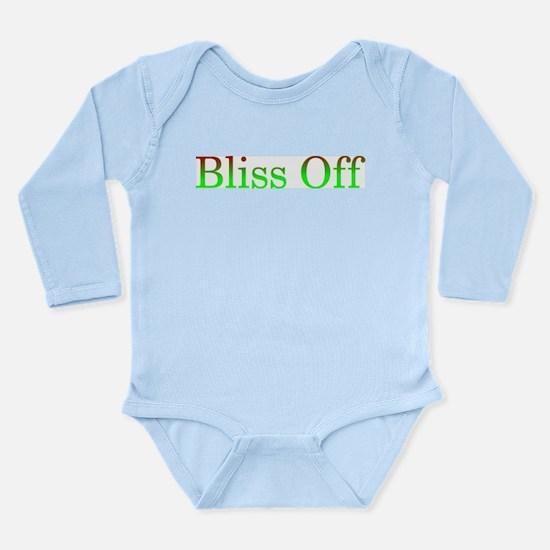Bliss Off Long Sleeve Infant Bodysuit
