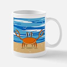 Cute Little Beach Crab Coffee Mug