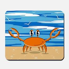 Cute Little Beach Crab Mousepad