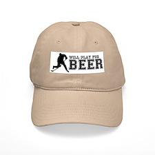 Cute Beer in Baseball Cap