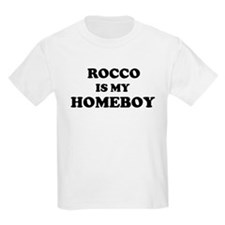 Rocco Is My Homeboy Kids T-Shirt
