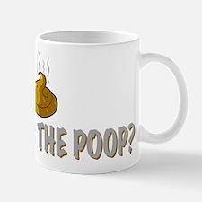 Where's the poop? Mug