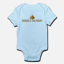 Where's the poop? Infant Bodysuit