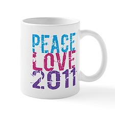 peace love 2011 Mug