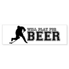 Will Play for Beer Bumper Bumper Sticker