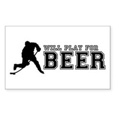 Funny Beer league Decal