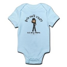Light Navy Veteran (Blue Camo) Infant Bodysuit