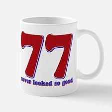 77 years never looked so good Mug