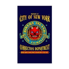 RIKERS ISLAND Decal
