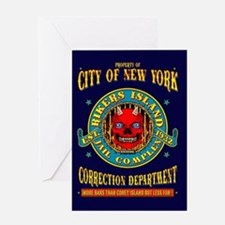 RIKERS ISLAND Greeting Card