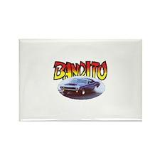 Bandito Dodge Rectangle Magnet