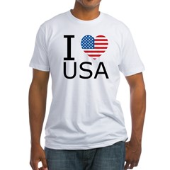 I Heart USA w/Flag Shirt