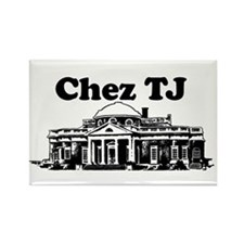 Chez TJ Rectangle Magnet