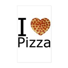 I Heart Pizza Decal